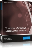 Custom Options Absolute Price