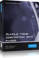 Display Bundle Items with Description and Image